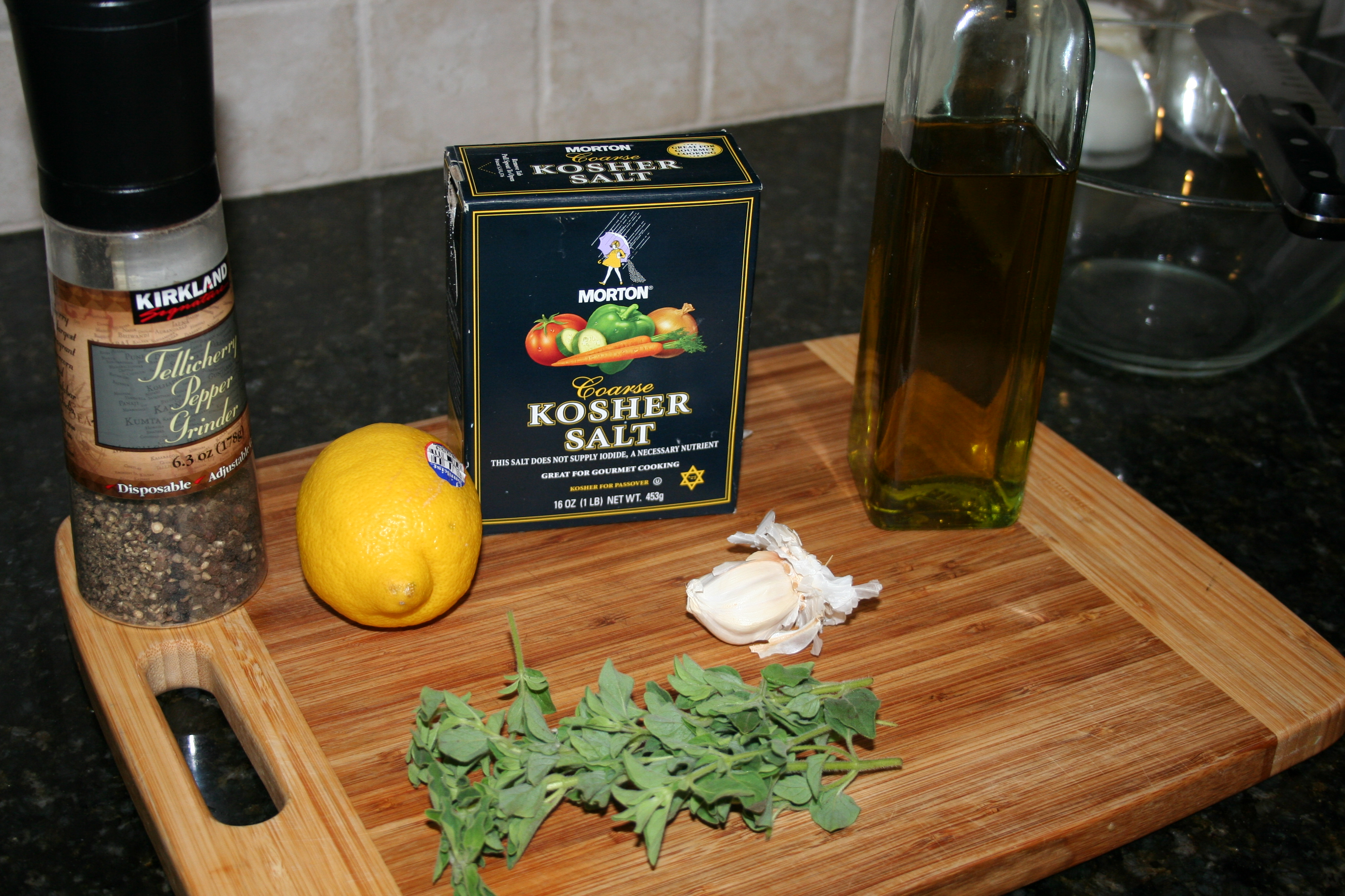 Grilled Lemon-Oregano Chicken Thighs | Steeltown Delicious